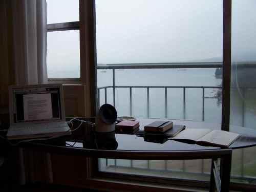 Jacqueline's desk