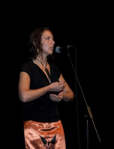 Hinemoana Baker performing at QPF 2006