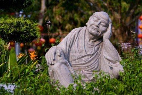 zen garden buddha