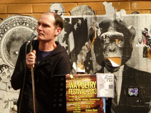 Reading at the Perth Poetry Club